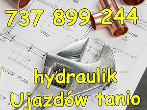 hydraulik Ujazdów tanio